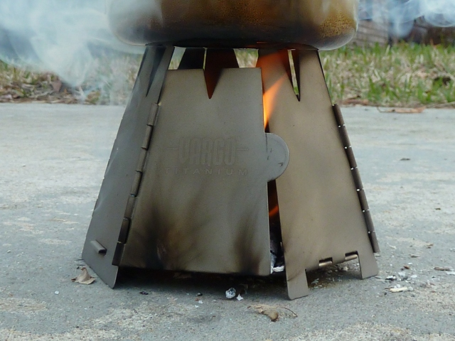 Hex Stove Up Close