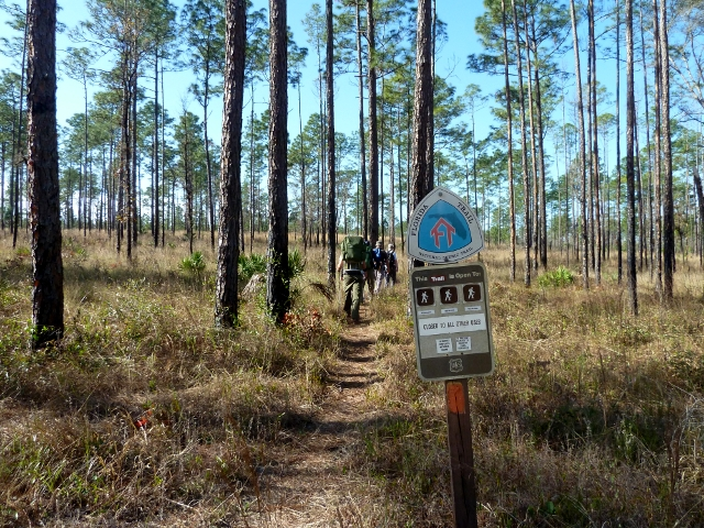 Hiking Florida Trail
